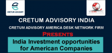 India Investment Opportunities for American Companies