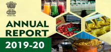 Annual Report 2019-20 | Ministry of Food Processing Industries