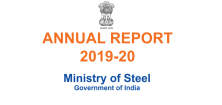 Annual Report 2019-20 | Ministry of Steel