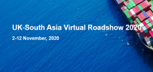 UK-South Asia Virtual Roadshow 2020, 2-12 November, 2020