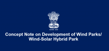 Concept Note on Development of Wind Parks/ Wind-Solar Hybrid Park