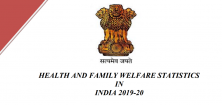 Health and Family Welfare Statistics in India 2019-20
