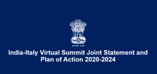 India-Italy Virtual Summit Joint Statement and Plan of Action 2020-2024