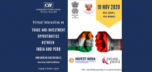Virtual Interaction on the Trade and Investment Opportunities Between India and Peru