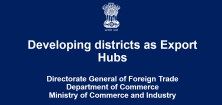 Developing districts as Export Hubs