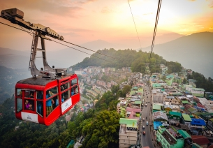 Aerial Ropeways: Connectivity and Tourism
