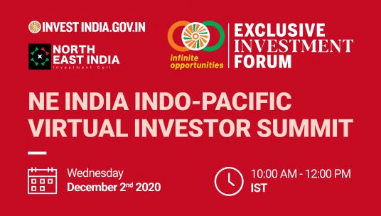 North East India Indo-Pacific Virtual Investor Summit